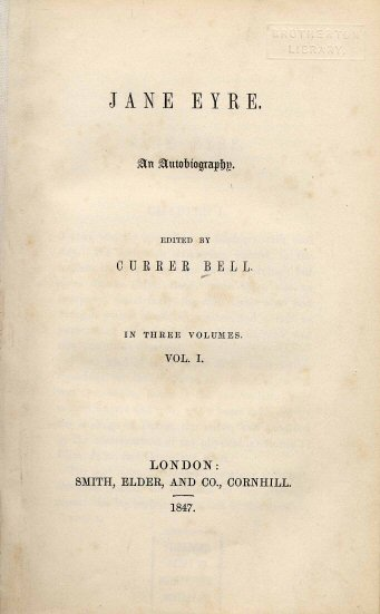 Title page to the first edition, via Wikimedia Commons