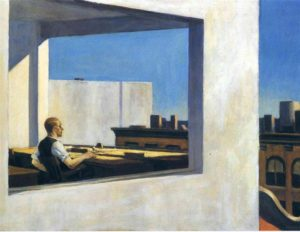 Edward Hopper's Office in a Small City 2